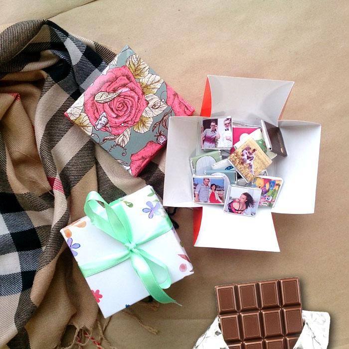 Шоколад как подарок своими руками